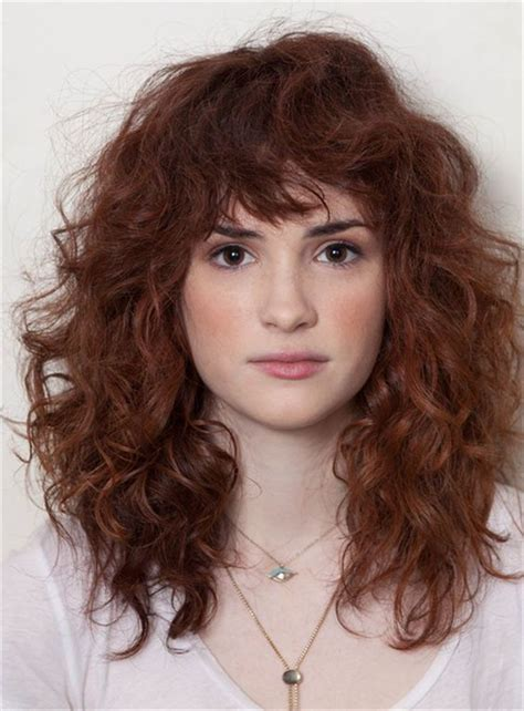 long layered curly hairstyles with bangs best 25 curly hair with bangs ideas on pinterest curly
