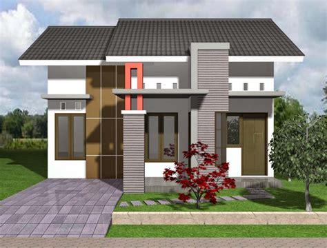 contoh gambar desain rumah minimalis type  terbaru