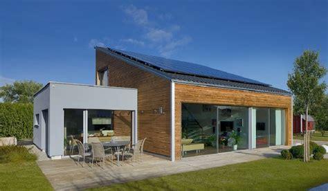 Holzhaus Bungalow Modern bungalow ederer baufritz http www hausbaudirekt de