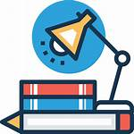 Study Icon Icons Education Flaticon Lineal Books