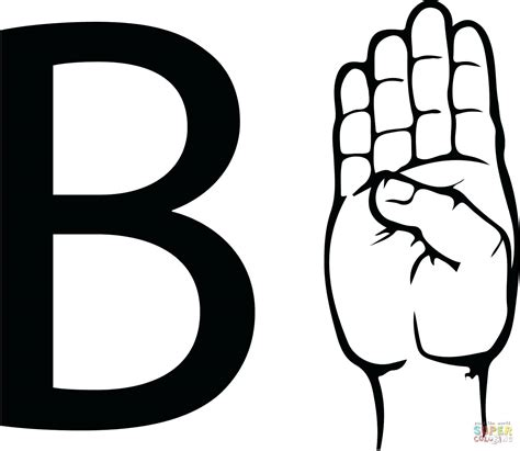 letters in sign language printable sign language words printable worksheets 4241