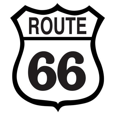 File Route66 Sign Jpg Route 66 Sign Clipart Childrens Church