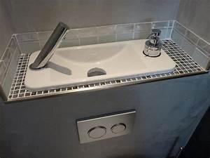 Lave Main Pour Wc : choisir un robinet automatique pour son wc lave mains de ~ Premium-room.com Idées de Décoration