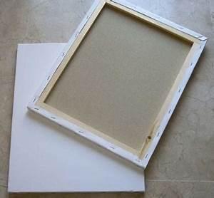 Comment Encadrer Une Toile : comment commencer peindre sur une toile 7 tapes ~ Voncanada.com Idées de Décoration