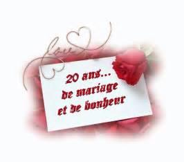 anniversaire de nos 20 ans de mariage - Anniversaire De Mariage 20 Ans