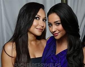 Naya Rivera and Shay Mitchell. Similar (good) looking and ...