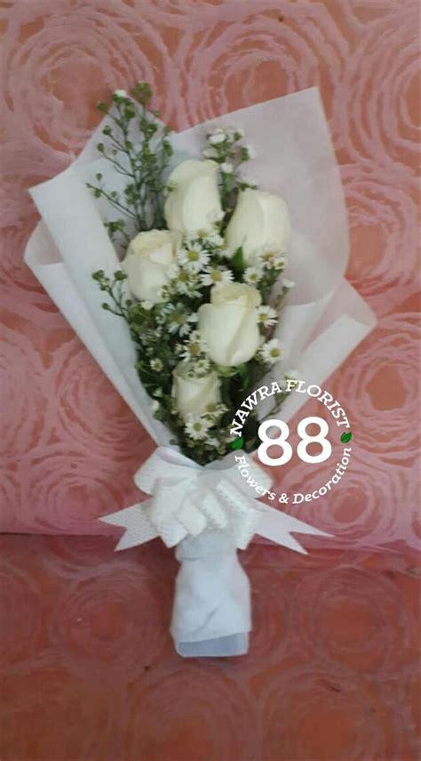 foto buket bunga mawar putih kumpulan gambar bunga