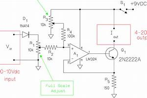Schematic Diagram For The Voltage