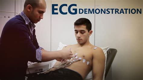 Ecg Lead Placement Osce Exam Demonstration Youtube