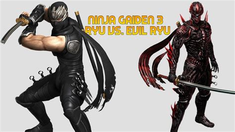 Wii U Ninja Gaiden 3 Razors Edge Evil Ryu Boss Youtube