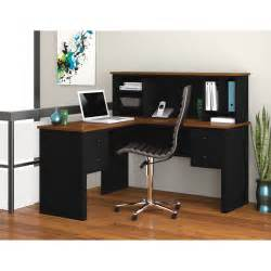 l shaped desk and hutch furniture espresso l shaped computer desk with hutch and