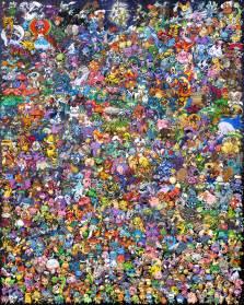 Arceus Creatures All Pokemon