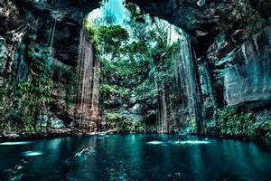 Cave Wallpapers... Mooiste Cenotes Cancun