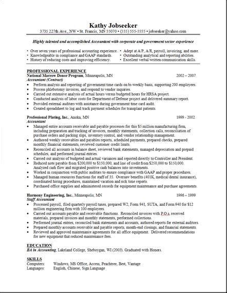 Layout For Resume by Layout For A Resume Resume Layout 2017