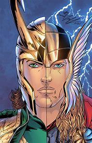 Thor and Loki Comic deviantART