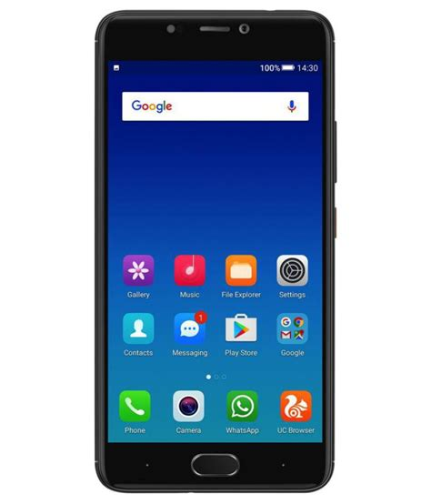 Mobile Phone gionee a1 64gb 4 gb black mobile phones at