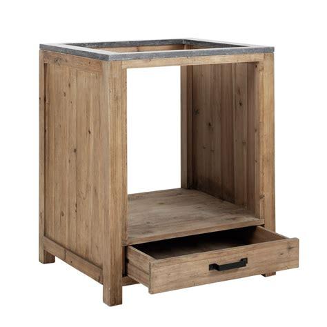 cuisine meuble bas meuble bas de cuisine pour four en bois l 70 cm pagnol