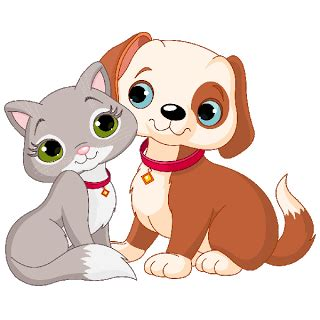 cat  dog clip art cartoon cat  dog clip art images