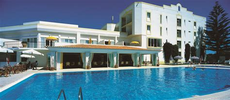 heated outdoor swimming pool dona filipa hotel algarve