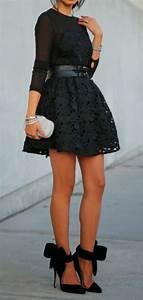 escarpins noirs les meilleurs modeles et idees de tenue With robe de cocktail combiné avec bracelet coach sportif
