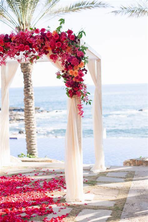 ideas  wedding arch flowers  pinterest