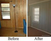 how to paint over wood paneling Painted Wood, Decor Ideas, Google Search, Paintings Wood Panels, House, Paintings Panels, Pine ...