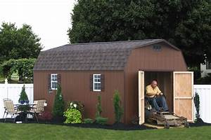 premium quality amish built storage barns and sheds With amish built buildings