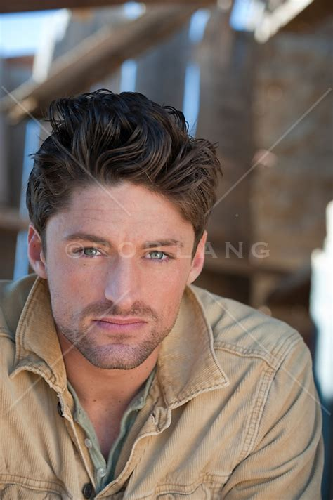 portrait   handsome man  green eyes rob lang images licensing  commissions