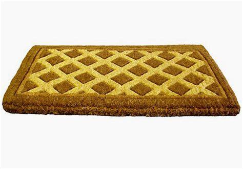 Decorative Doormats by Decorative Coir Doormat Diamonds In Doormats