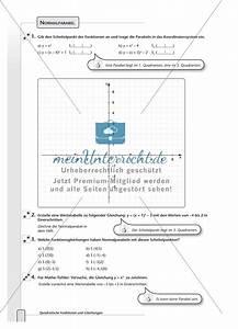 Parabeln Berechnen : aufgaben zur normalparabel und bestimmung der funktionsgleichungen von parabeln meinunterricht ~ Themetempest.com Abrechnung