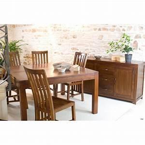Table Carrée Rallonge : table manger carr e rallonge 140 50 x 140 cm mindi meubles macabane meubles et objets de ~ Teatrodelosmanantiales.com Idées de Décoration