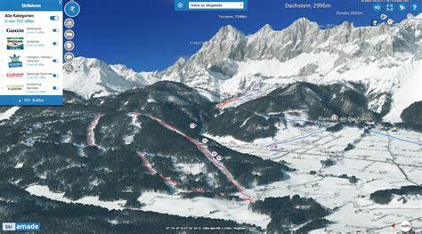 neue version der  karte ski amade  realitymaps
