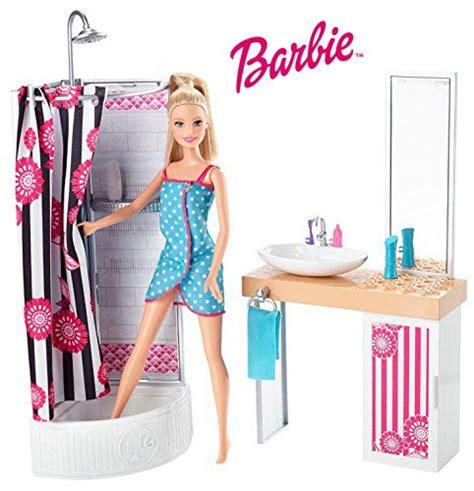 barbie et sa salle de bain poup 233 es mannequins barbie