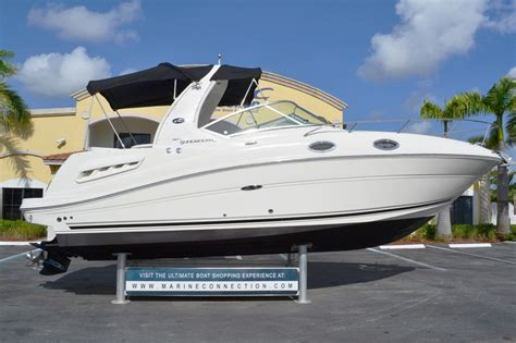 Boats For Sale In Ct Used by Used 2005 Sea 260 Sundancer Boat For Sale In West Palm