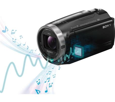 buy sony hdr cx625 camcorder black free delivery currys