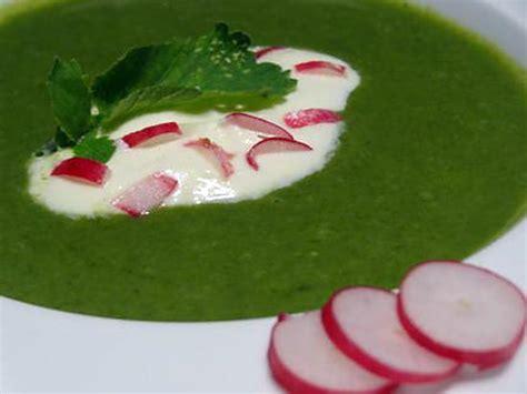 cuisiner fanes de radis recette de soupe de fanes de radis au chèvre
