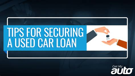 tips  securing   car loan   auto