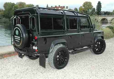 sell   land rover defender  blr automatic custom