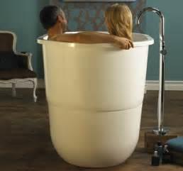 japanese sit bath tub deep free standing soaking tub