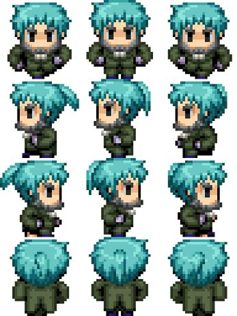 rpg maker vx ace characters  lanto sinistermuffin