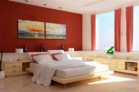 colour combination  bedroom walls