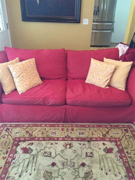 Grey Yellow Living Room by How To Update With Red Couches