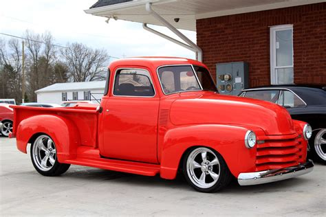 chevrolet pickup classic cars muscle cars