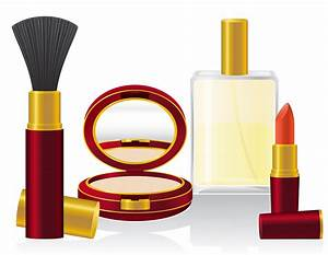Set, Cosmetics, Vector, Illustration