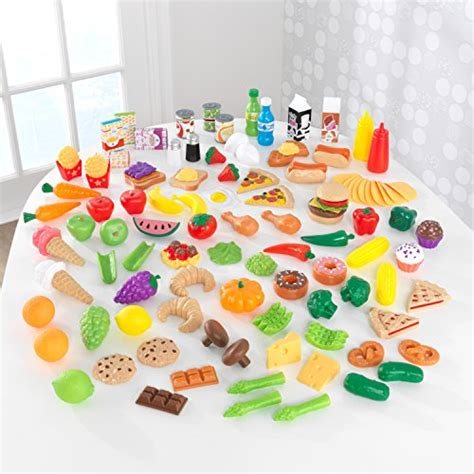 kidkraft tasty treats play food set  pieces buy