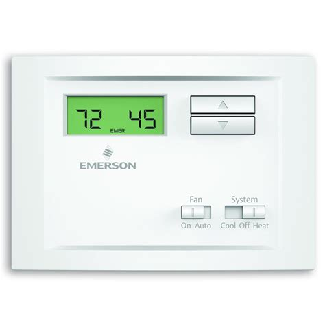 Emerson Single Stage Non Programmable Thermostat
