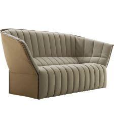 canapé avec dossier haut canapé convertible design stockholm gris piétement bois