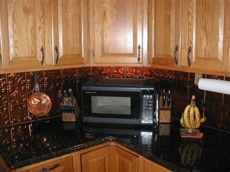 Copper Tin Backsplash : Copper, Home And We On Pinterest