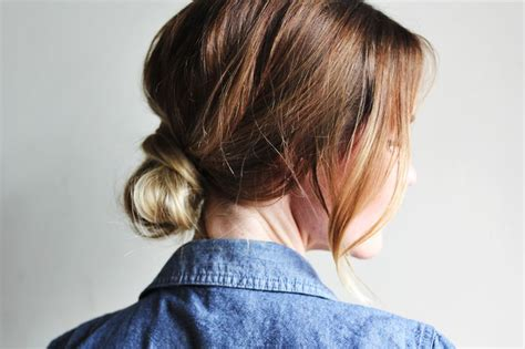 vely low bun hairstyles how to style a low bun a beautiful mess 20 l