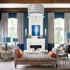 Bold Color Christopher Kennedy Modernism Showhouse by Showhouses Traditional Home